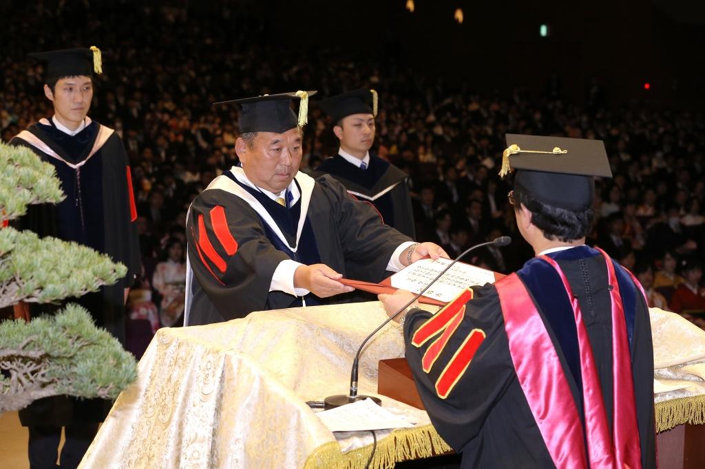 平成28年度国士舘大学卒業式を挙...